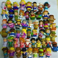 Random 10pcs Fisher Price Little People DC Comics Sofie Figure Boy Girl Toy Doll