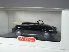 Wiking VW 1300 Käfer Cabrio schwarz in 1:40 in OVP (202)