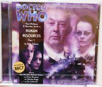 DOCTOR WHO + Human Resources + Hörspiel auf CD + Sci-Fi Serie BBC Orig. Englisch