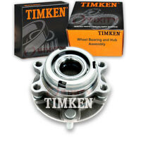 Timken Front Wheel Bearing & Hub Assembly for 2014-2017 Infiniti QX60 Left cy