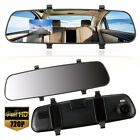 2.7'' In-Car Rear View Mirror Dash Video DVR Recorder Camera Monitor HD 1080P