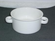 Midwinter STONEHENGE WHITE 2 Handle Cream Soup Bowl