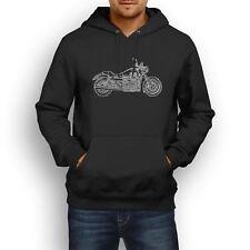 Moto Guzzi California 1400 Custom Inspired Motorcycle Art Men's Hoodie