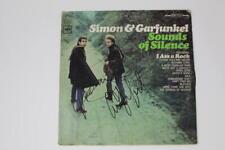 PAUL SIMON & ART GARFUNKEL SIGNED AUTOGRAPH ALBUM RECORD - SOUNDS OF SILENCE