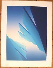 Jean Allemand  Lithographie signée art abstrait abstraction cinétique
