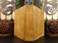 1664 Medieval Hugh of Saint-Cher Bible Concordance Sacrorum Bibliorum Vulgate
