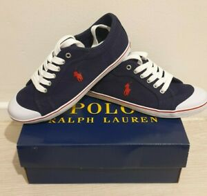 Womens Ralph Lauren Blue Trainers Size UK 5.5