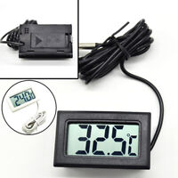 Digital Display LCD Temperature Thermometer W/ Probe Waterproof New