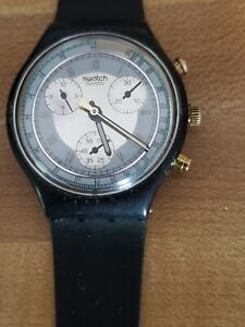Swatch Chrono Colossal SCB 109, 1992, working with new battery
