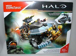 Mega Construx Halo Dual Mode UNSC Warthog Inc. Upgrade Pack & 2 Figures - NIB