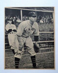 1934 Butterfinger Gus Mancuso Giants - FLASH SALE