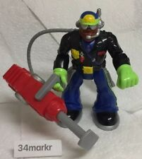 Fisher Price Rescue Heroes Jake Justice 78313 Police Action Figure Body Force