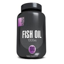 Optimum Adept Nutrition FISH OIL 1000 mg - 100 Softgels OMEGA-3, DHA, EPA