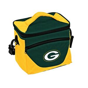 Green Bay Packers Halftime Cooler Zipper Insulated Lunch Bag Box Tote 9pk NFL