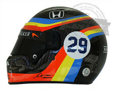 Fernando Alonso Indianapolis Indy 500 Full Scale Replica Helmet Indycar