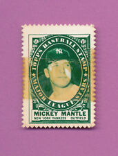 PHOTO ALBUM RESCUE 1961 TOPPS STAMP MICKEY MANTLE GENUINE EXAMPLE *TAPE ON FRONT