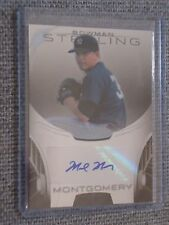 2013 Bowman Sterling Mark Montgomery Prospect On-Card Autograph