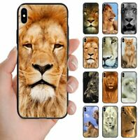 For Huawei Phone Series - Lion Theme Print Back Case Mobile Phone Cover #1