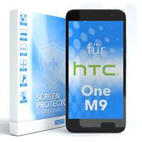 1x SCHUTZGLAS FÜR HTC One M9 PANZER DISPLAYFOLIE ECHT GLAS 9H