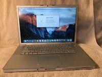 "MacBook Pro 15"" Intel Core 2 Duo, 2.5GHz 3GB RAM 250GB HDD Early 2008 #002"