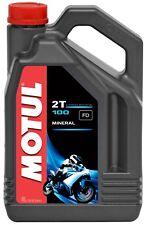 Motul 100 2T Minerale 2-takt Olio Motore Olio Misto 4 Litri Fusto