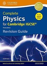 Complete Physics for Cambridge IGCSE  Revision Guide (Third edition)... NEW BOOK