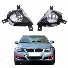 2x Front Fog Lights Lamps Foglamps Cover For BMW 3 Series 328i E90 E91 2009-2011