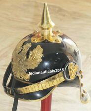 NEW ARMOR PICKLE HUBE GERMAN HELMET REPLICA SCA WITH STAND