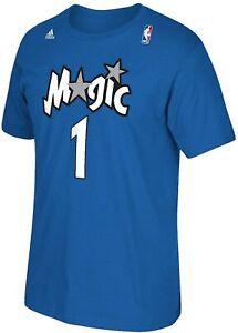 Tracy McGrady Orlando Magic NBA Soul Swingman Player T-Shirt Royal Cotton Tee