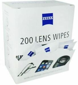 Zeiss  Pre Moist Lens Wipes Cleans Glassess Individual Sachets Glass Cleaner