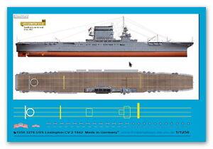 Peddinghaus 1/1250 ep 3276 US Träger USS Lexington CV 2