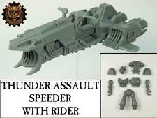 Thunder Assault Speeder with Rider