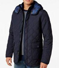 Tommy Hilfiger Mens Guberman Quilted Jacket, Navy, Size 2XL.