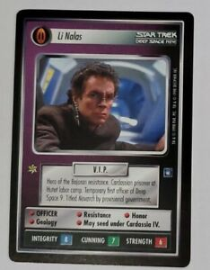 Star Trek CCG  Deep Space Nine  DS9 -  Li Nalas