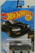 1988 88 HONDA CRX CR X BLACK 49 2019 HW HOT WHEELS