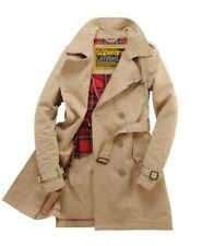 COATH TRENCH Womens - Classic Mackintosh in Paving Stone | Superdry