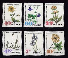 Briefmarken aus Polen mit Pflanzen-Motiv