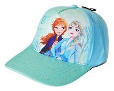 DISNEY FROZEN 2 ANNA & ELSA Girls Baseball Cap Adjustable Hat NEW Ages 4-8