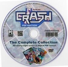CRASH MAGAZINE Complete Collection on Disk ALL 98 ISSUES! (ZX81/Spectrum Games)