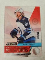 Kyle Connor 2020-21 UD Synergy Exceptional Young Stars 286/449 Winnipeg Jets