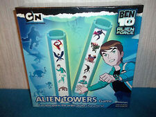 BEN 10 ALIEN FORCE - ALIEN TOWERS GAME - GUESS ORDER OF CHARACTERS - NEW SEALED