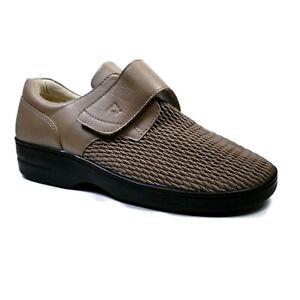 Propet Olivia Ped Rx Beige Ortho Adjustable Walking Shoes Womens 12W D WPRX25