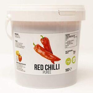 Red Chilli Puree | Chilli Mash Company | 1kg