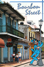 Estados unidos-Louisiana-new orleans-Bourbon Street-known for dixieland jazz