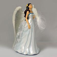 Wings of Purity  - Nene Thomas Angel Figurine with Owl - Bradford Exchange