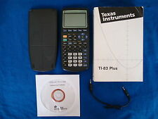 TI-83 Plus Graphing Calculator Texas Instruments Graphic