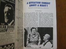 1967 TV Guide (TILL  DEATH DO US PART/LYNN REDGRAVE/DENNIS COLE/JACQUES COUSTEAU