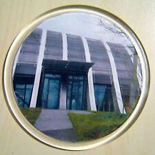 100 INDIVIDUALLY BAGGED BLANK ACRYLIC ROUND COASTER 90 mm DIA INSERT G1503