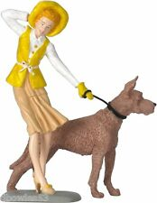 "Female figure ""Emily""  w/dog  #287 1:18scale by Motorhead Miniatures"
