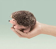 HEDGEHOG  Finger Puppet # 2668 ~FREE SHIPPING  in USA ~ Folkmanis Puppets